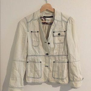 Marc Jacobs White Denim Jacket